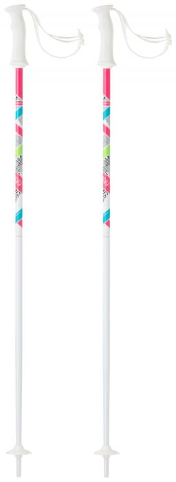 Tecnopro SWEETY, dječji skijaški štapovi, bijela