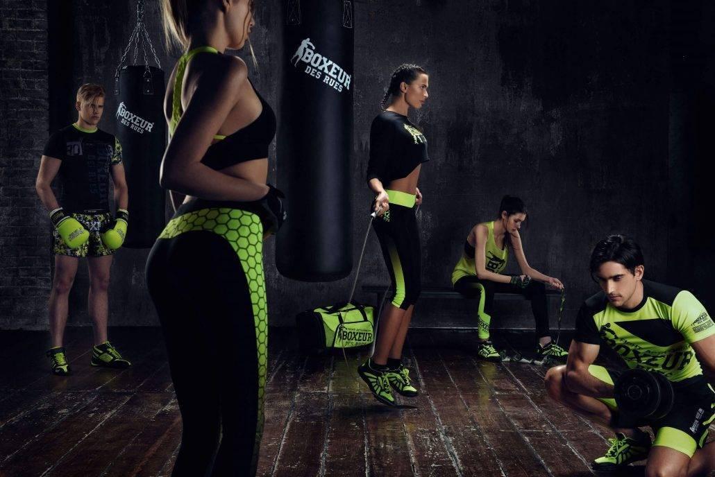 Odjeća za trening i boks Boxeur Des Rues
