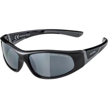 Alpina FLEXXY JR, dječje sunčane naočale, crna