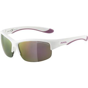 Alpina FLEXXY YOUTH HR, dječje sunčane naočale, bijela