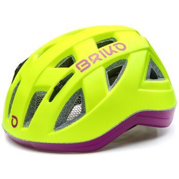 Briko PAINT, dječja biciklistička kaciga, žuta