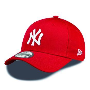 New Era 10298276, muška kapa, crvena