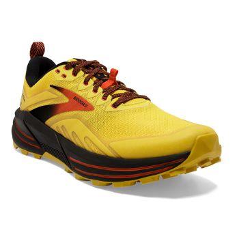 Brooks CASCADIA 16, muške tenisice za trčanje, žuta