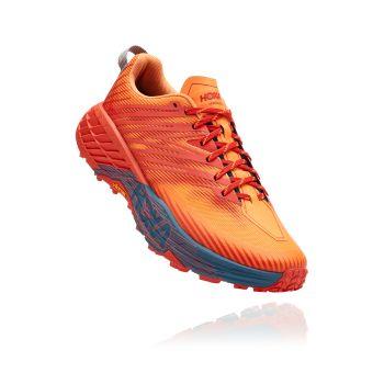 Hoka One One SPEEDGOAT 4, muške tenisice za trail trčanje, narančasta