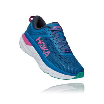 Hoka One One BONDI 7 W, ženske tenisice za trčanje, plava
