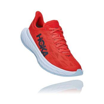 Hoka One One CARBON X 2, muške tenisice za trčanje, crvena