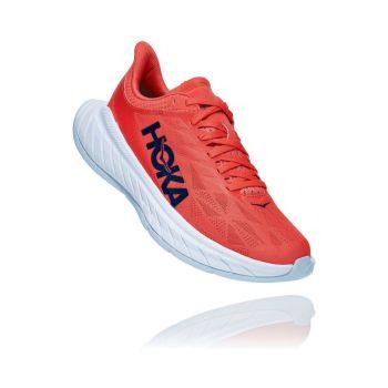 Hoka One One CARBON X 2 W, ženske tenisice za trčanje, crvena
