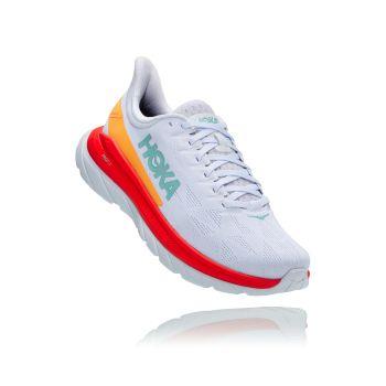 Hoka One One MACH 4, muške tenisice za trčanje, bijela