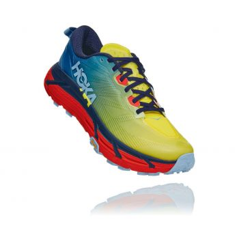 Hoka One One MAFATE SPEED 3, muške tenisice za trail trčanje, žuta