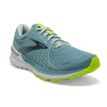 Brooks ADRENALINE GTS 21, ženske tenisice za trčanje, zelena