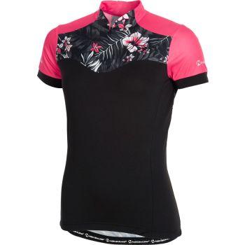 Nakamura HAWAII JERSEY, ženska majica za biciklizma, crna