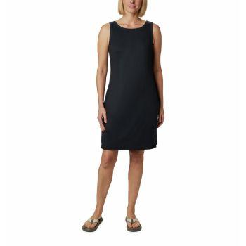 Columbia CHILL RIVER PRINTED DRESS, odjeća, crna