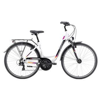 Genesis TOURING 2.1 W, ženski  gradski bicikl, bijela