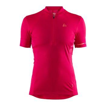 Craft POINT JERSEY W, ženska majica za biciklizma, roza