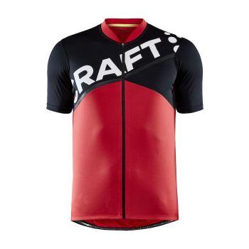 Craft CORE ENDUR LOGO JERSEY M, muška majica za biciklizam, crvena