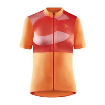 Craft CORE ENDUR LOGO JERSEY W, ženska majica za biciklizma, narančasta