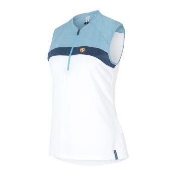 Ziener CONEA, ženska majica za biciklizam, bijela