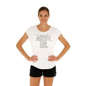 Lotto DINAMICO W II TEE PRT VI, ženska majica, bijela