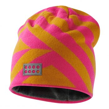 Lego Tec ALFRED 716, dječja skijaška kapa, roza