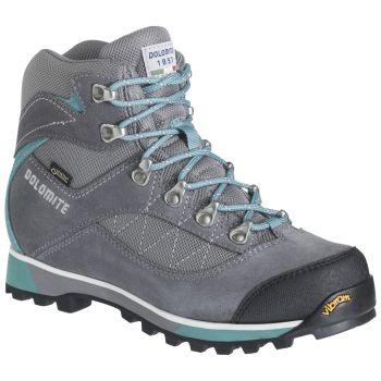 Dolomite ZERNEZ GTX W, ženske cipele za planinarenje, siva