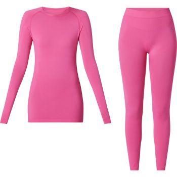 McKinley SET YALATA WMS/YADINA WMS, donje rublje žensko set, roza