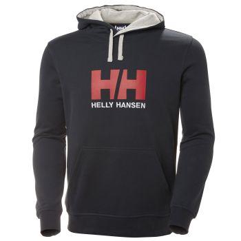 Helly Hansen HH LOGO HOODIE, muški pulover, plava