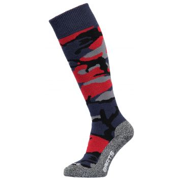 Barts CAMO KIDS, dječje skijaške čarape, plava
