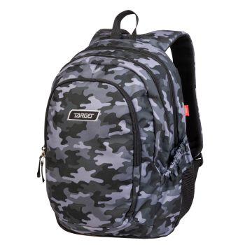 Target 3 ZIP DUEL, ruksak, siva