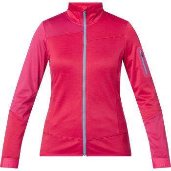 McKinley MAKIA WMS, ženska majica za planinarenje, crvena