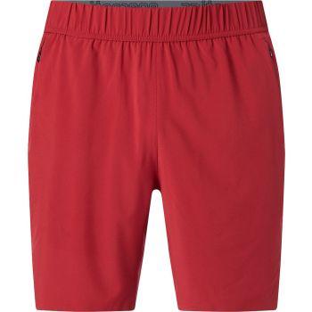 Energetics FREY IV UX, muške fitnes hlače, crvena