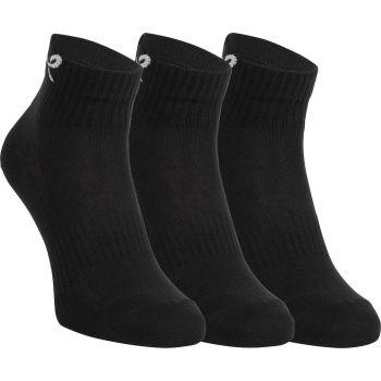 Energetics NEW LJUBLJANA II 3-PACK UX, muške čarape za trčanje, crna