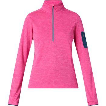 McKinley TAMPO WMS, ženski flis zip, roza
