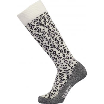 Barts ANIMAL PRINT, ženske skijaške čarape, bijela