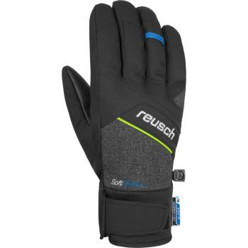 Reusch LUKE R-TEX XT, muške skijaške rukavice, crna
