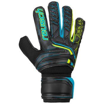Reusch ATTRAKT SD, muške nogometne rukavice, crna