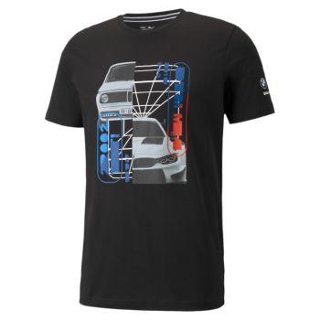 Puma BMW MMS CAR GRAPHIC TEE, muška majica, crna