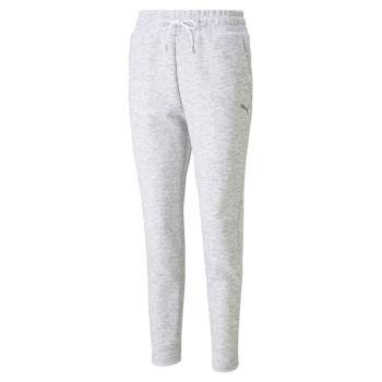 Puma EVOSTRIPE PANTS OP, ženske hlače, bijela