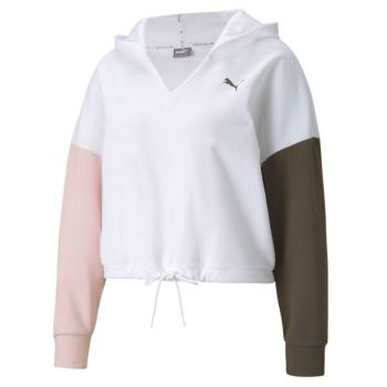 Puma MODERN SPORTS HOODIE, ženski pulover, bijela