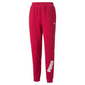 Puma MODERN SPORTS PANTS CL, ženske hlače, crvena
