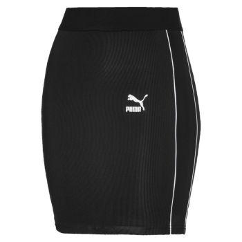 Puma CLASSICS RIB SKIRT, ženska suknja, crna