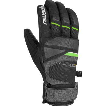 Reusch STORM R-TEX XT, muške skijaške rukavice, crna