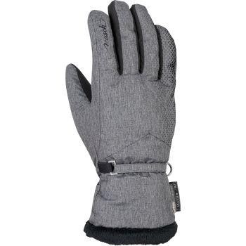 Reusch LILLY R-TEX, ženske skijaške rukavice, siva