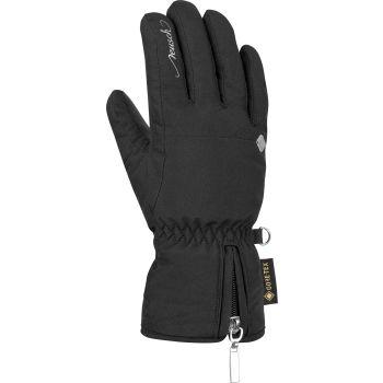 Reusch SELINA GTX, ženske skijaške rukavice, crna