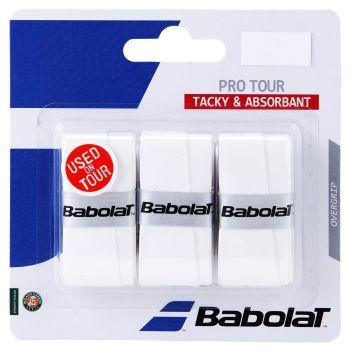Babolat PRO TOUR X3, grip tenis, bijela