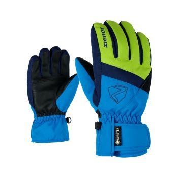 Ziener LEIF GTX, dječje skijaške rukavice, plava