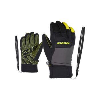 Ziener LANUS AS PR, dječje skijaške rukavice, crna