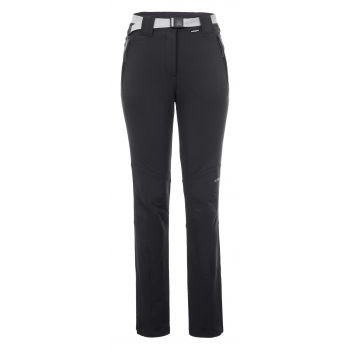 Icepeak BROMLEY, ženske planinarske hlače, crna