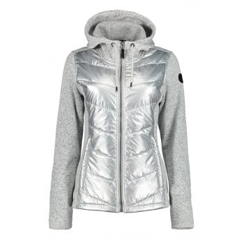 Icepeak EP AIEA, ženska jakna, srebrna