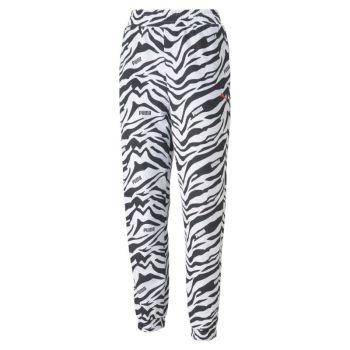 Puma MODERN SPORTS AOP PANTS CL, ženske hlače, bijela
