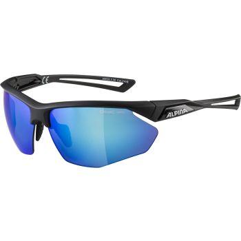 Alpina NYLOS HR, naočale, crna